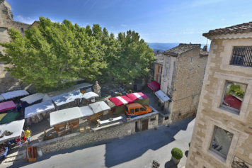 The view from Ciel from the Blue Bastide